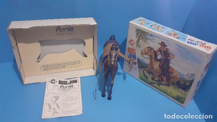 Figuras de acción - Big Jim: Lote Big Jim. El caballo furia, la tienda de camping y Maniqui negro. Congost. - Foto 11 - 248209175