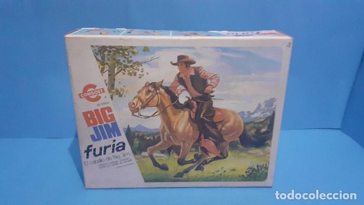 Figuras de acción - Big Jim: Lote Big Jim. El caballo furia, la tienda de camping y Maniqui negro. Congost. - Foto 14 - 248209175