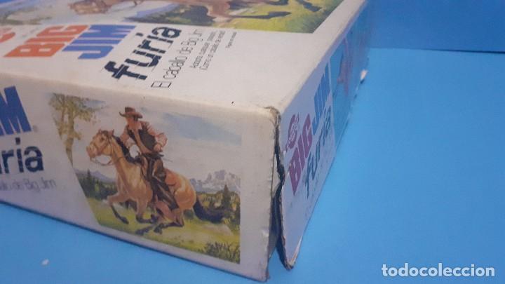 Figuras de acción - Big Jim: Lote Big Jim. El caballo furia, la tienda de camping y Maniqui negro. Congost. - Foto 15 - 248209175
