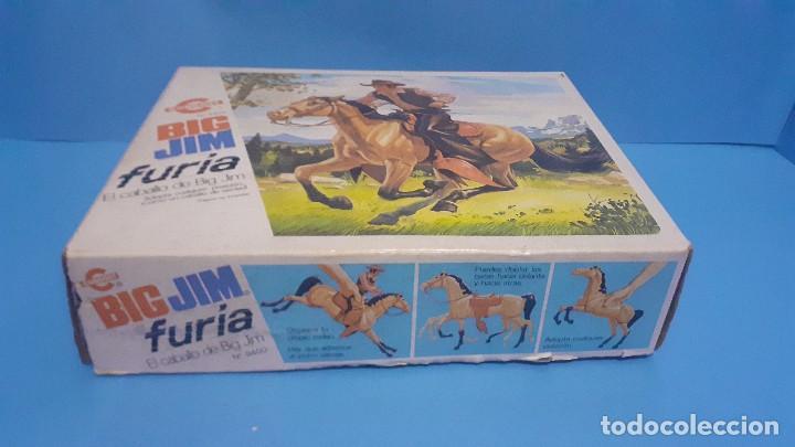 Figuras de acción - Big Jim: Lote Big Jim. El caballo furia, la tienda de camping y Maniqui negro. Congost. - Foto 16 - 248209175