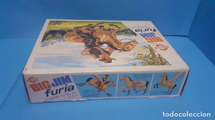 Figuras de acción - Big Jim: Lote Big Jim. El caballo furia, la tienda de camping y Maniqui negro. Congost. - Foto 17 - 248209175