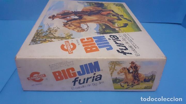 Figuras de acción - Big Jim: Lote Big Jim. El caballo furia, la tienda de camping y Maniqui negro. Congost. - Foto 18 - 248209175
