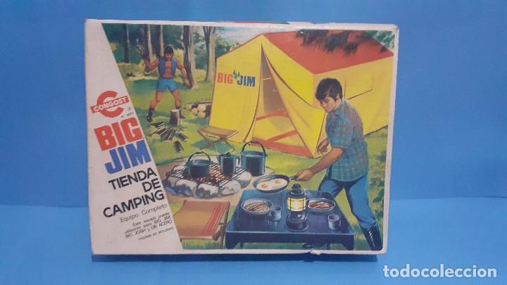 Figuras de acción - Big Jim: Lote Big Jim. El caballo furia, la tienda de camping y Maniqui negro. Congost. - Foto 38 - 248209175