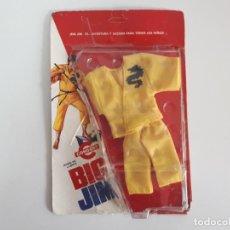 Figuras de acción - Big Jim: BLISTER BIG JIM TRAJE KUNG FU MATTEL CONGOST REF. 8973 ROPA ORIGINAL MUÑECO ACCESORIOS AÑOS 70. Lote 250350795