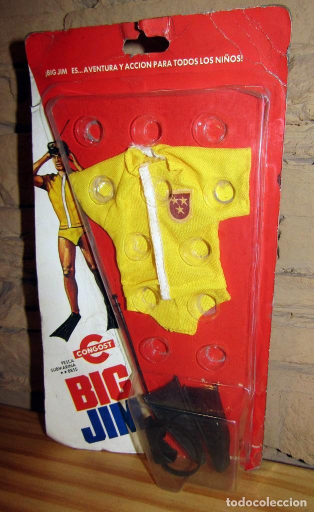 BIG JIM - CONGOST - BLISTER CONJUNTO PESCA SUBMARINA - REF 8855 - NUEVO (Juguetes - Figuras de Acción - Big Jim)