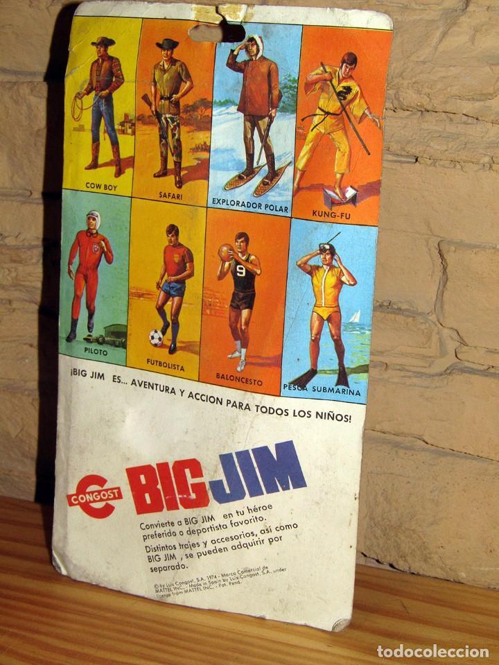 Figuras de acción - Big Jim: BIG JIM - CONGOST - BLISTER CONJUNTO PESCA SUBMARINA - REF 8855 - NUEVO - Foto 4 - 251425550
