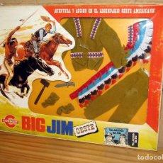 Figuras de acción - Big Jim: BIG JIM OESTE - CONGOST - VESTUARIO JEFE INDIO - REF. 9413 - NUEVO Y EN SU CAJA ORIGINAL - AÑOS 70. Lote 251454265