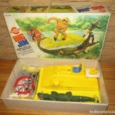 Figuras de acción - Big Jim: BIG JIM: AVENTURA EN EL PANTANO CON EL FEROZ CAIMAN. CONGOST. NUEVO A ESTRENAR. MUY DIFICIL. Lote 259954165
