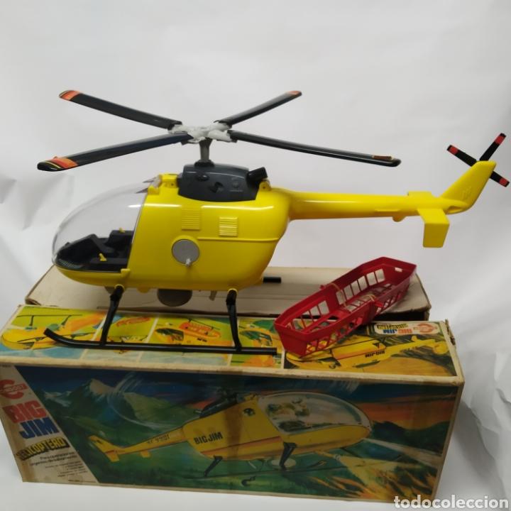 Figuras de acción - Big Jim: Antiguo Helicóptero de rescate para operaciones urgentes de salvamiento BIG JIM año 1978 CONGOST - Foto 8 - 260278095