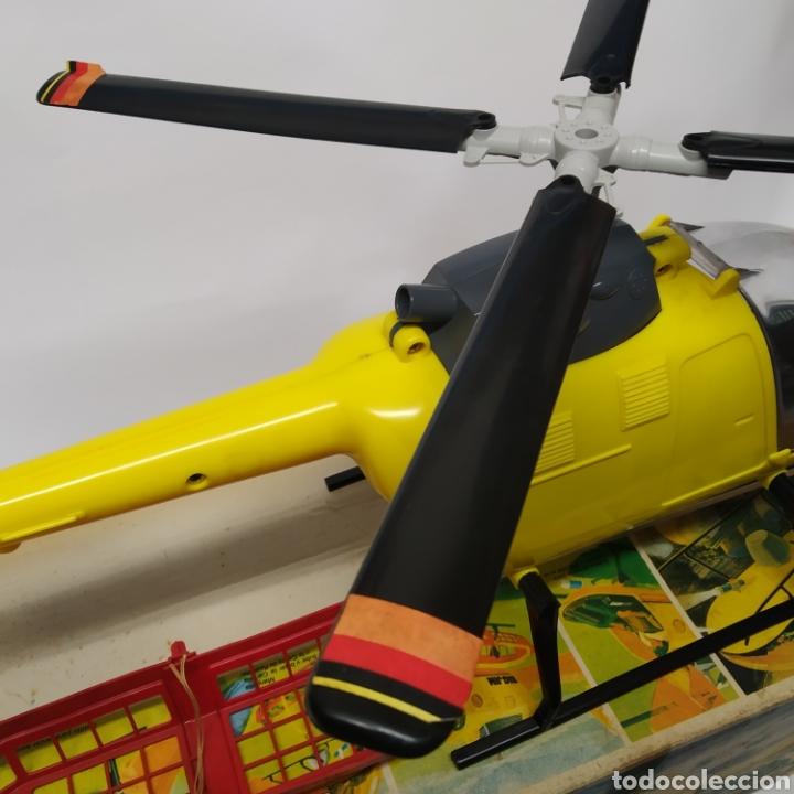 Figuras de acción - Big Jim: Antiguo Helicóptero de rescate para operaciones urgentes de salvamiento BIG JIM año 1978 CONGOST - Foto 16 - 260278095