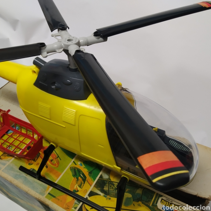 Figuras de acción - Big Jim: Antiguo Helicóptero de rescate para operaciones urgentes de salvamiento BIG JIM año 1978 CONGOST - Foto 17 - 260278095