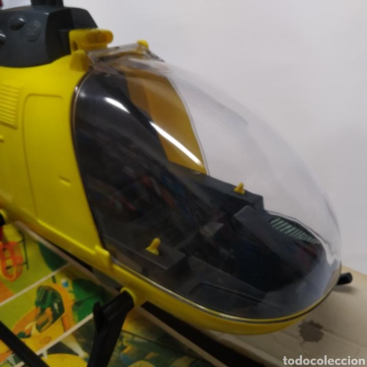 Figuras de acción - Big Jim: Antiguo Helicóptero de rescate para operaciones urgentes de salvamiento BIG JIM año 1978 CONGOST - Foto 18 - 260278095