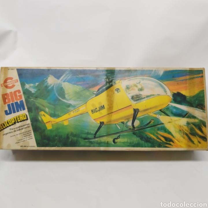 Figuras de acción - Big Jim: Antiguo Helicóptero de rescate para operaciones urgentes de salvamiento BIG JIM año 1978 CONGOST - Foto 25 - 260278095