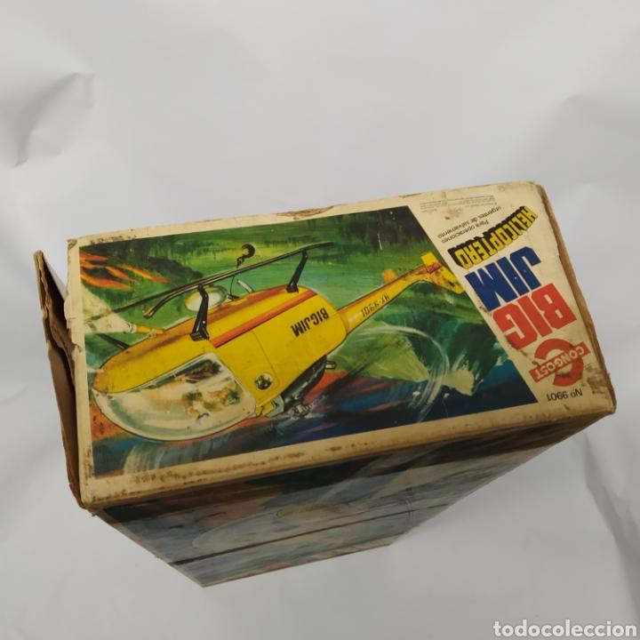 Figuras de acción - Big Jim: Antiguo Helicóptero de rescate para operaciones urgentes de salvamiento BIG JIM año 1978 CONGOST - Foto 28 - 260278095