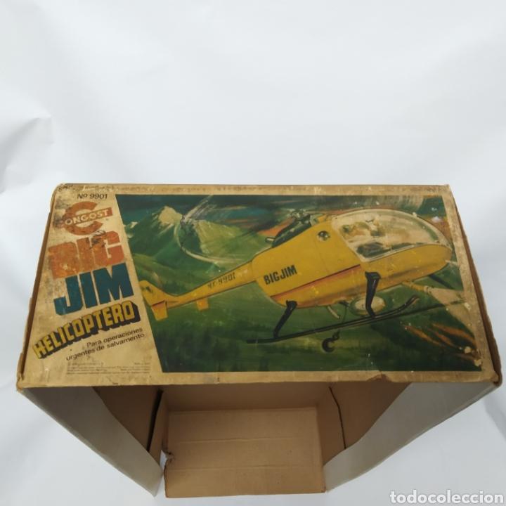 Figuras de acción - Big Jim: Antiguo Helicóptero de rescate para operaciones urgentes de salvamiento BIG JIM año 1978 CONGOST - Foto 29 - 260278095