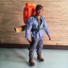 Figuras de acción - Big Jim: BIG JOSH - BIG JIM MATTEL PORTUGAL 1971 BOSQUE EN LLAMAS. Lote 262814315
