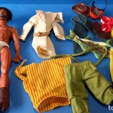 Figurines d'action - Big Jim: LOTE BIG JIM CONGOST PARA RESTAURAR MAS ACCESORIOS DE REGALO. Lote 265443409
