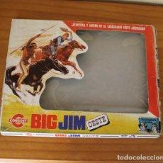Figuras de acción - Big Jim: CAJA VACIA VESTUARIO BIG JIM OESTE. CONGOST. Lote 269361023