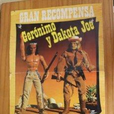 Figuras de acción - Big Jim: POSTER / CATALOGO BIG JIM OESTE. CONGOST GERONIMO Y DAKOTA JOE. Lote 269361113