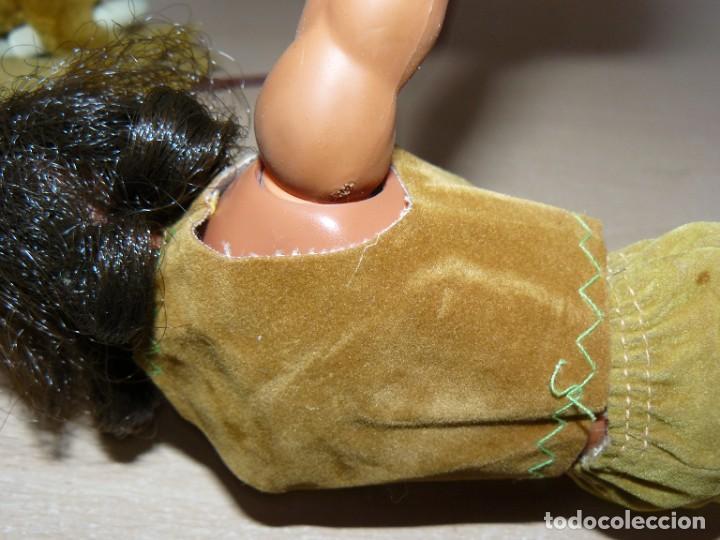 Figuras de acción - Big Jim: Mattel BIG JIM Figura Indio Bisonte Negro articulado original Hong Kong 1971 oeste far west congost - Foto 5 - 288701788