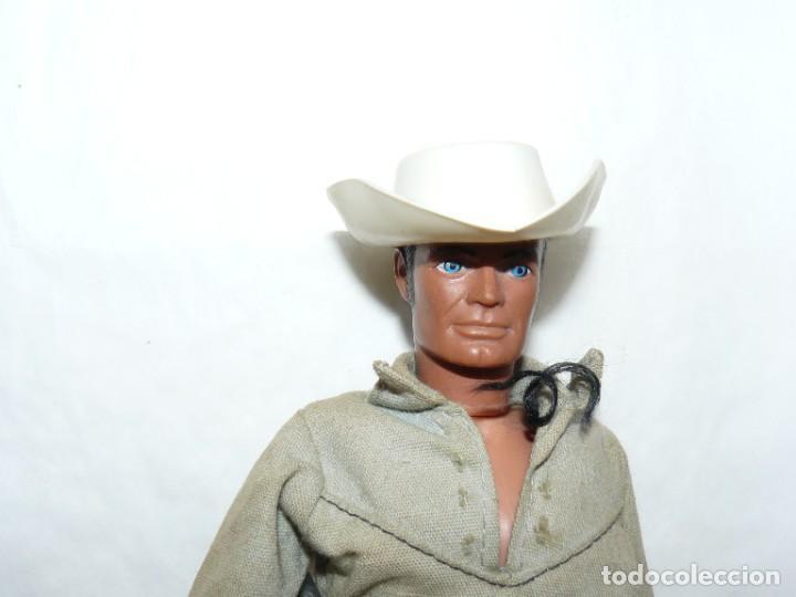 Figuras de acción - Big Jim: Figura Cowboy LONE RANGER original Hong Kong 1973 Gabriel oeste far west tipo Big Jim congost - Foto 2 - 288726613