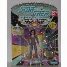 Figuras de acción: STAR TREK BLISTER MUY ANTIGUO CON LA CHICA DE BANDAI. Lote 26447884
