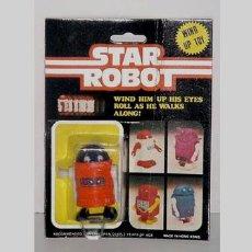 Figuras de acción: ANTIGUO STAR ROBOT A CUERDA EN SU BLISTER. Lote 105938262