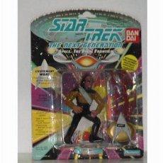 Figuras de acción: STAR TREK BLISTER MUY ANTIGUO CON WOKE DE BANDAI. Lote 26447895
