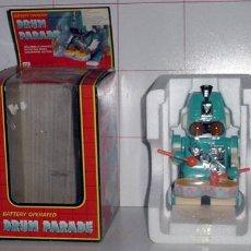 Figuras de acción: ANTIGUO ROBOT A BATERIA DRUM PARADE. Lote 26919673
