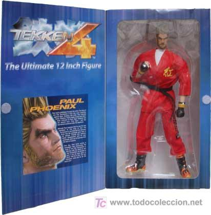 Figura Paul Phoenix Tekken 4 De 12 Pulgadas Sold Through Direct