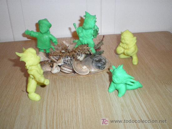 LOTAZO MUÑECOS DE GOMA GOCU , DRAGONBALL VER FOTOS (Juguetes - Figuras de Acción - Otras Figuras de Acción)