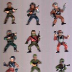 Figuras de acción: 11 MUÑECOS DE GOMA. Lote 13559670