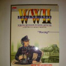 Figuras de acción: FIGURA DRAGON WWII FRITZ WIKING DIVISION PANZER OFFICER REF.70007. Lote 14438512