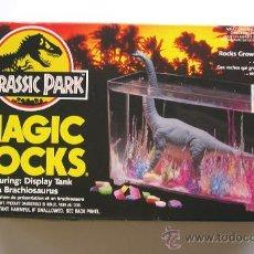 Figuras de acción: 1993 JURASSIC PARK: TANQUE DE AGUA MAGIC ROCKS / DINOSAURIOS - DINOSAURIO. Lote 26297107
