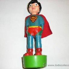 Figuras de acción: SUPERMAN - FIGURA PLASTICO - MADE IN SPAIN -MUÑECOS ANIMADOS MUÑOZ -1980. Lote 23714126