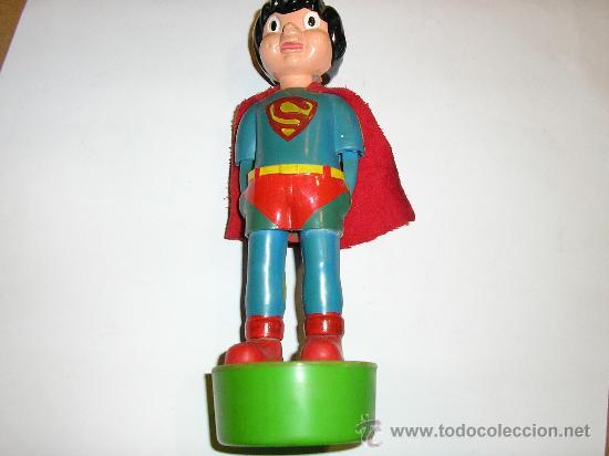 Figuras de acción: SUPERMAN - FIGURA PLASTICO - MADE IN SPAIN -Muñecos animados Muñoz -1980 - Foto 4 - 23714126