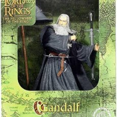 Figuras de acción: GANDALF, FIGURA DE GANDALF EL GRIS EN EL SEÑOR DE LOS ANILLOS.. Lote 27615028