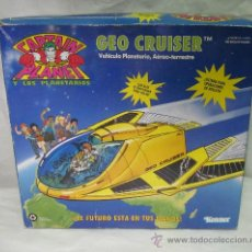 Figuras de acción: CAPTAIN PLANET GEO CRUISER,KENNER,CAJA ORIGINAL,AÑO 1991. Lote 25263485