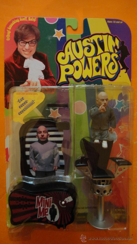 Figura Mini Yo De Austin Powers 1999 Mcfarlan Sold Through