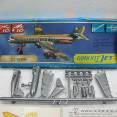Figuras de acción: MINI-KIT JET AVION MOD:CARAVELLE GAMES COLLCTION. Lote 29398458