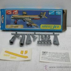 Figuras de acción: MINI-KIT JET AVION MOD:CARAVELLE GAMES COLLCTION. Lote 29398478