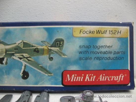 MINI-KIT AIRCRAFT AVION MOD:FOCKE WULF 125H GAMES COLLCTION (Juguetes - Figuras de Acción - Otras Figuras de Acción)