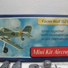 Figuras de acción: MINI-KIT AIRCRAFT AVION MOD:FOCKE WULF 125H GAMES COLLCTION. Lote 29398521