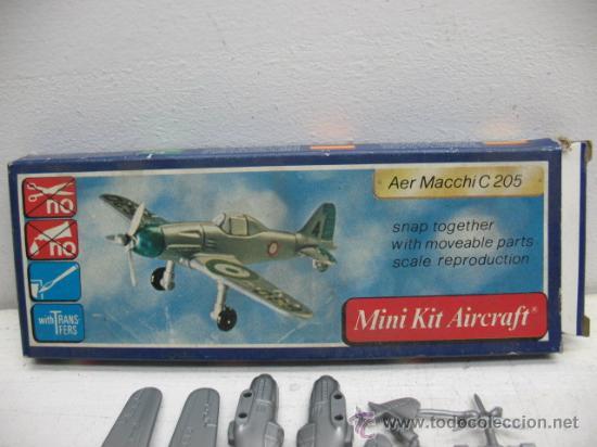 MINI-KIT AIRCRAFT AVION MOD:AER MACCHI C-205 GAMES COLLCTION (Juguetes - Figuras de Acción - Otras Figuras de Acción)