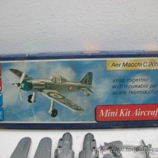 Figuras de acción: MINI-KIT AIRCRAFT AVION MOD:AER MACCHI C-205 GAMES COLLCTION. Lote 29398558