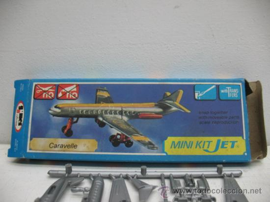 MINI-KIT JET AVION MOD:CARAVELLE GAMES COLLCTION (Juguetes - Figuras de Acción - Otras Figuras de Acción)