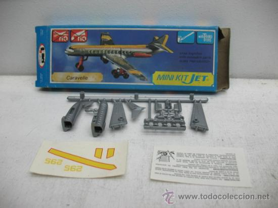 Figuras de acción: MINI-KIT JET AVION MOD:CARAVELLE GAMES COLLCTION - Foto 3 - 29398611