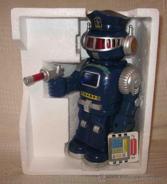 Powerbot Policía Original robot 80 Estrenar 90 a caja Ó años n0OkPw
