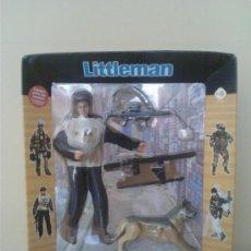 Figuras de acción: MADELMAN LITTLE MAN POLICIA SECRETA. Lote 30361972