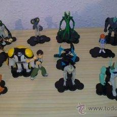 Figuras de acción - figuras ben10 lote 13 figuras - 30664283